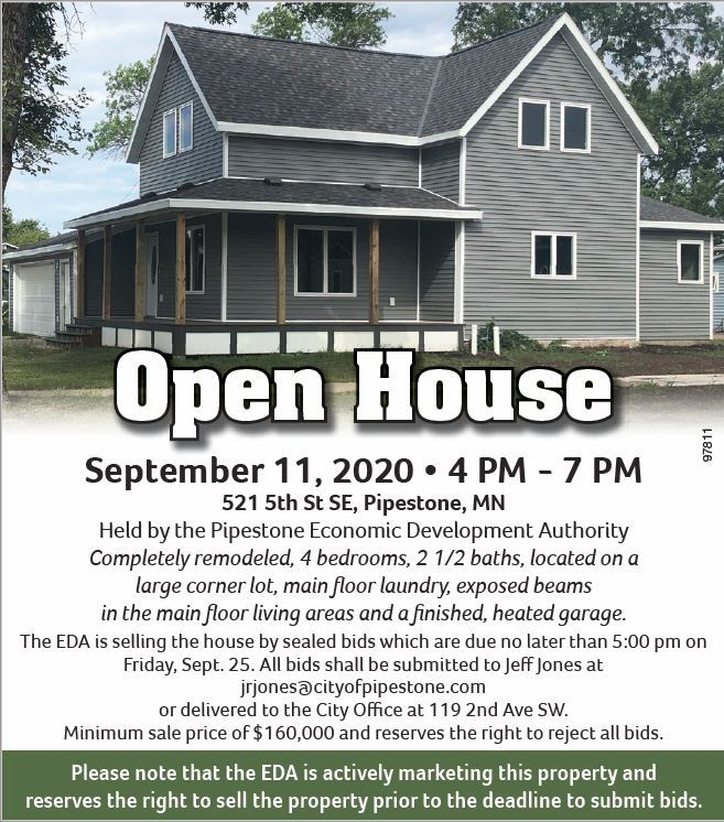 OPEN HOUSE-521 5th St SW
