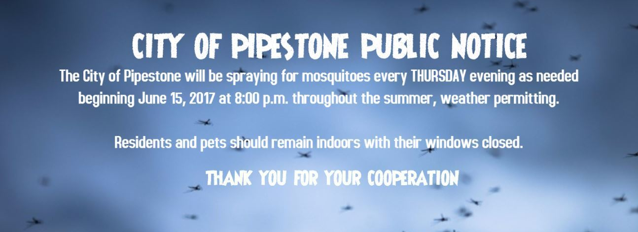 Public Notice-Mosquitoes