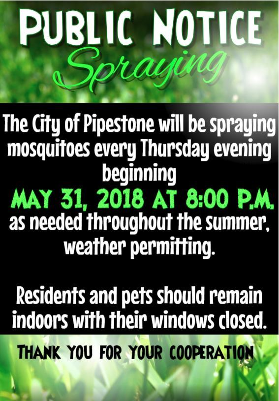 Public Notice-Mosquitoes 5.31.18