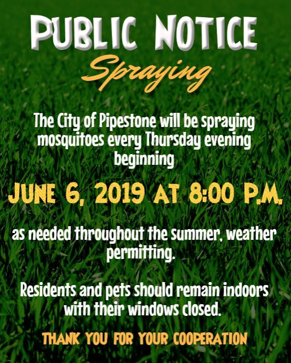 Public Notice-Mosquitoes 6.6.19