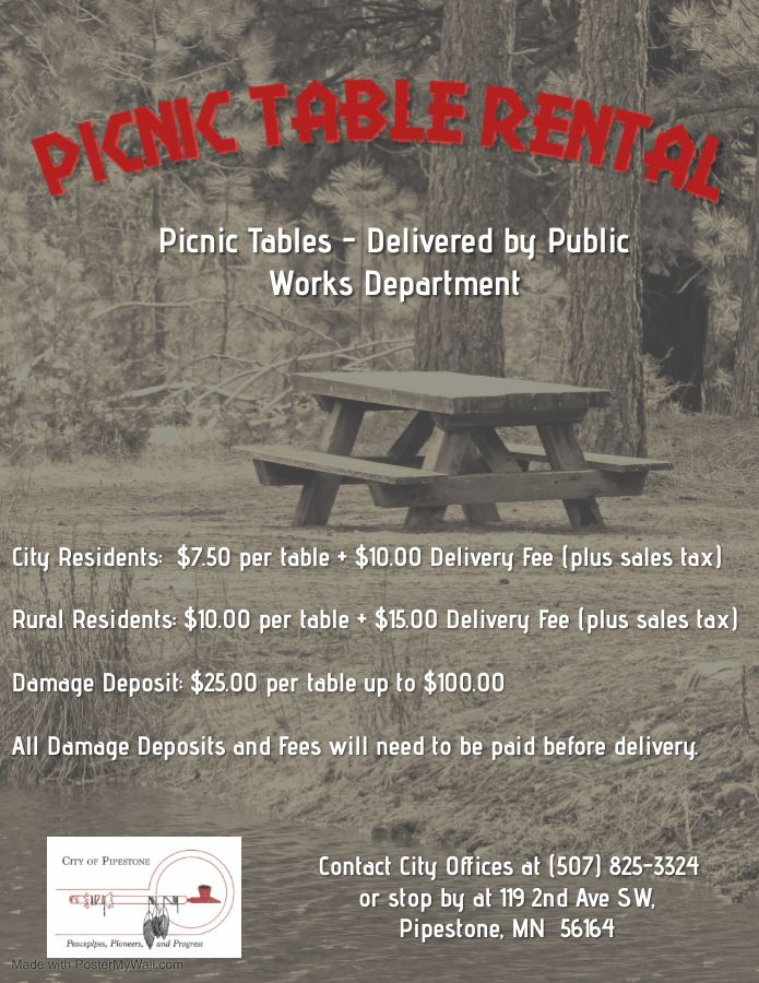 Picnic Table Prices
