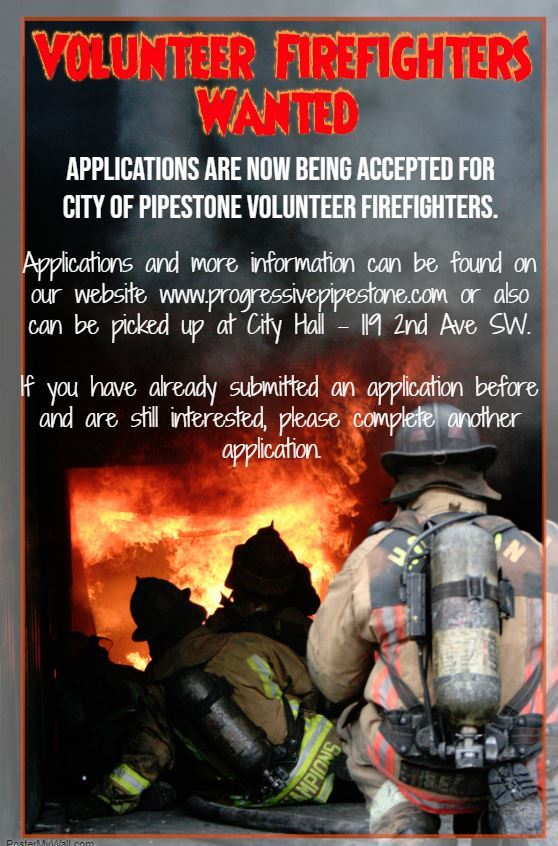2018 Firefighter Help Wanted